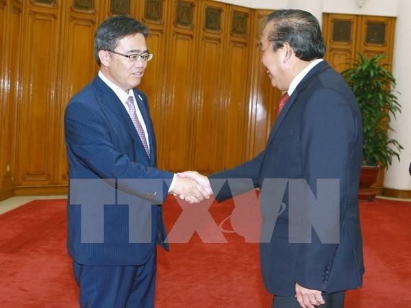 Des dirigeants vietnamiens estiment la cooperation entre le Vietnam et la prefecture d'Aichi hinh anh 2