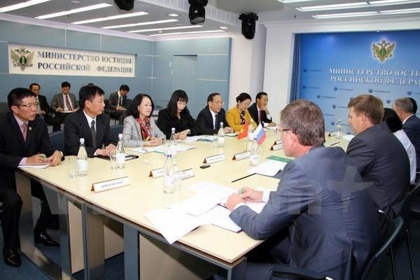Le Vietnam cherche a resserrer les relations avec la Russie hinh anh 1