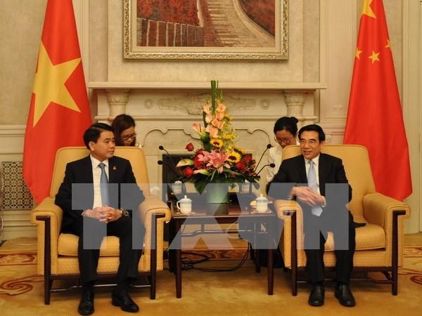 Hanoi et Pekin developpent leur amitie hinh anh 1