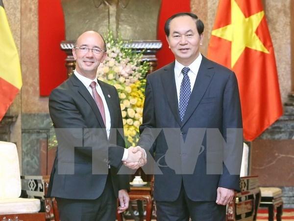 Wallonie - Bruxelles attache une grande importance a ses relations avec le Vietnam hinh anh 1