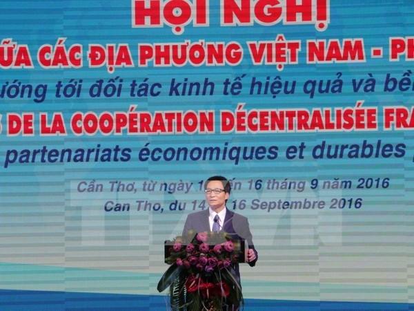 Ouverture des 10e Assises de la cooperation decentralisee franco-vietnamienne hinh anh 1