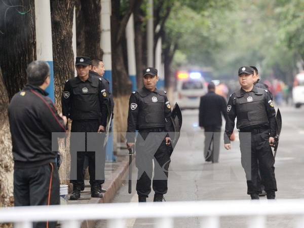 Anti-terrorisme: la Chine et le Laos effectuent leur manœuvre commune hinh anh 1