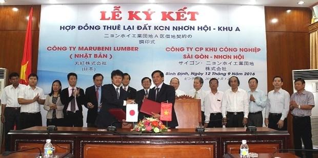 Transformation de bois: lancement d'un projet japonais de 5 millions de dollars a Binh Dinh hinh anh 1