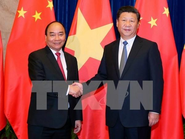 La visite du PM vietnamien largement couverte par les medias chinois hinh anh 1