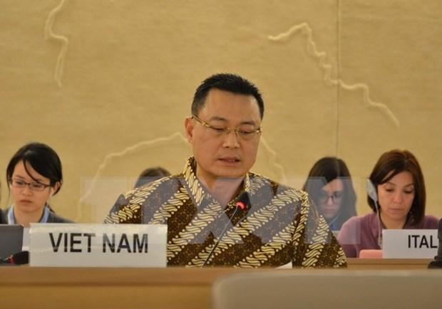 Le Vietnam affirme faire grand cas de l'education aux droits de l'homme hinh anh 1