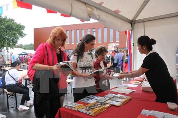 Le Vietnam a la fete de la solidarite organisee par le Parti du travail de Belgique hinh anh 1