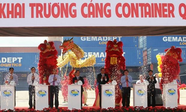 Inauguration du port de conteneurs SP-ITC hinh anh 1
