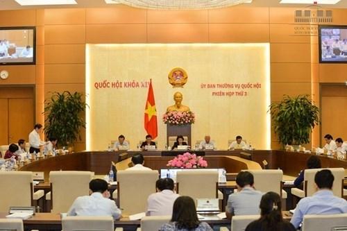3e session du Comite permanent de l'AN: De nombreuses questions en debat hinh anh 1