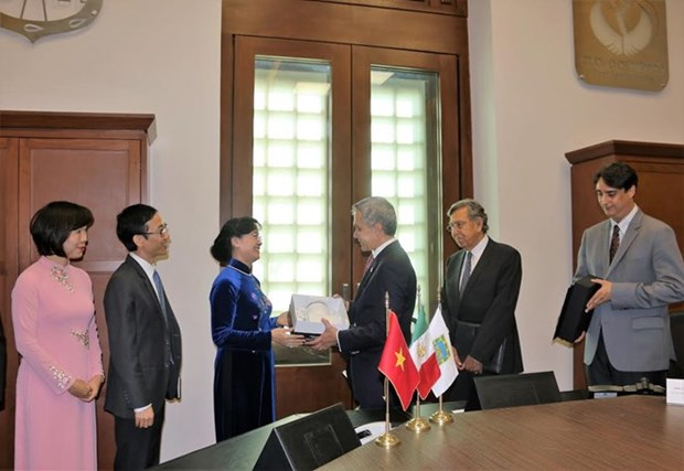 Mexico prete a etablir des relations avec Ho Chi Minh-Ville hinh anh 1