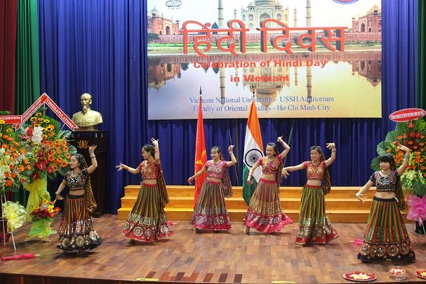 La Journee de la langue hindi celebree a Ho Chi Minh-Ville hinh anh 1