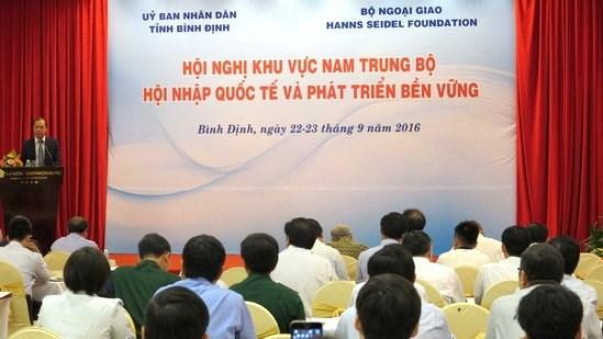 Nam Trung Bo s'oriente vers l'integration internationale et le developpement durable hinh anh 1