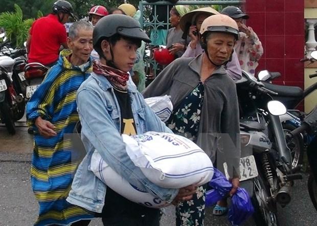 Subvention de riz pour les pecheurs de Quang Tri victimes de l'incident Formosa hinh anh 1