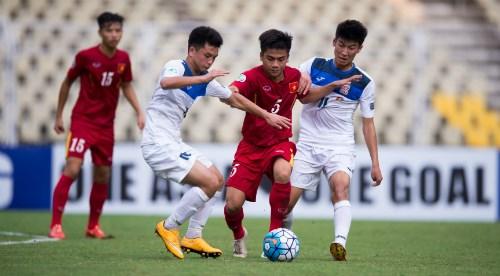 Championnat d'Asie U16 : le Vietnam bat le Kirghizistan hinh anh 1