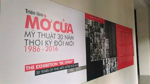 Une exposition pour retracer l'histoire des beaux-arts depuis le Doi moi hinh anh 1