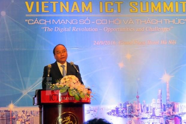 Le chef du gouvernement exhorte a saisir les opportunites de la revolution numerique hinh anh 1