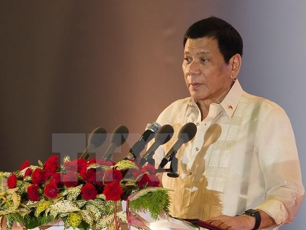 Le president philippin Rodrigo R.Duterte attendu au Vietnam hinh anh 1