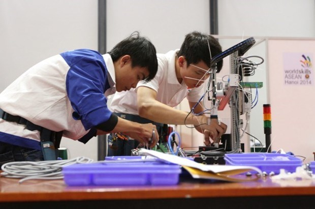 Lancement du 11e Concours professtionnel de l'ASEAN hinh anh 1