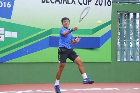 Men's Futures F5 : le tennisman Ly Hoang Nam remporte deux titres hinh anh 1