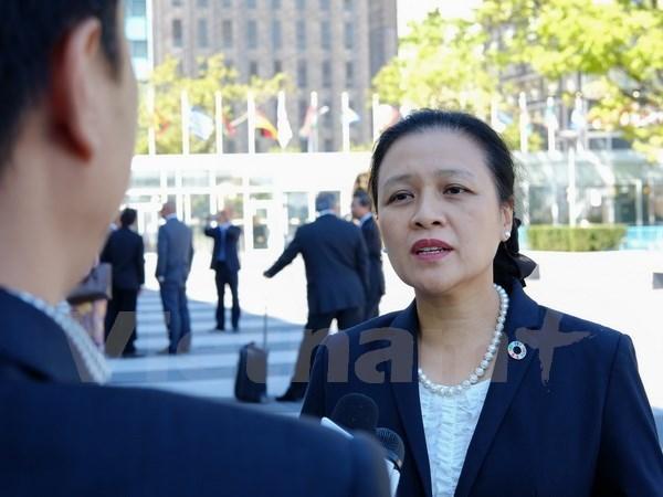 Le Vietnam appelle l'ONU a tenir compte du respect du droit international hinh anh 1