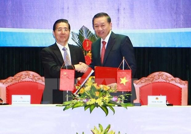 Vietnam-Chine : vers une cooperation efficace entre les deux ministeres de la Securite publique hinh anh 1
