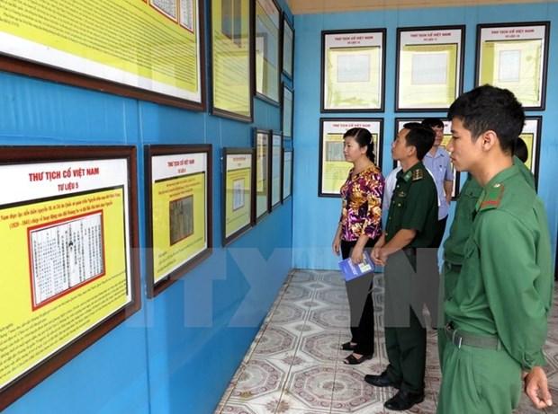 Ba Ria-Vung Tau : exposition de cartes et d'archives sur Hoang Sa et Truong Sa hinh anh 1