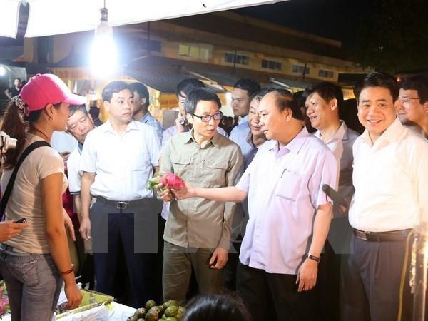 Hanoi doit creer une force de reaction rapide pour l'hygiene alimentaire hinh anh 1