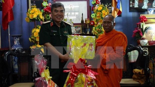 Tra Vinh : rencontre avec des Khmers a l'occasion de la fete Sene Dolta hinh anh 1