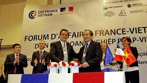 Deux cents entreprises attendues au forum d'affaires France-Vietnam hinh anh 1