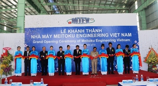 Inauguration de l'usine Meitoku Engineering Vietnam hinh anh 1
