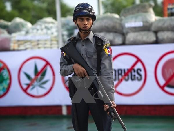 La Chine et le Myanmar cooperent dans l'application du droit et la securite hinh anh 1
