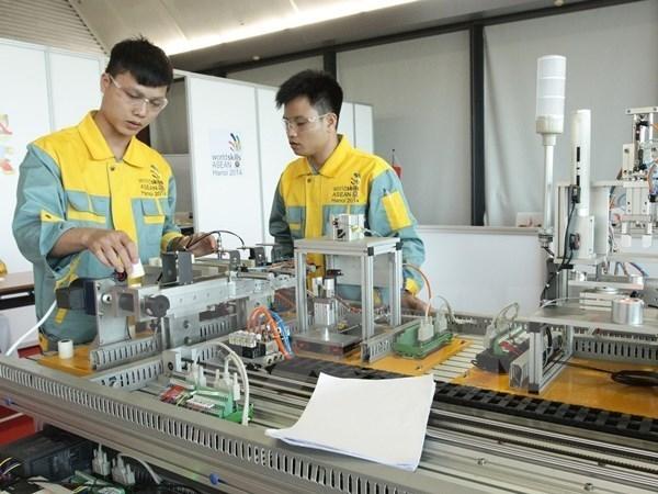 Le Vietnam finit 3e du 11e concours professionnel de l'ASEAN hinh anh 1