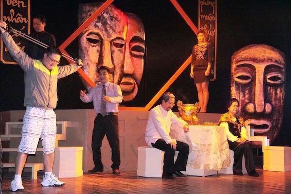 Des artistes vietnamiens a l'honneur au 4e festival de theatre Chine-ASEAN hinh anh 1