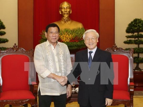 Le Vietnam et les Philippines renforcent leur cooperation hinh anh 1