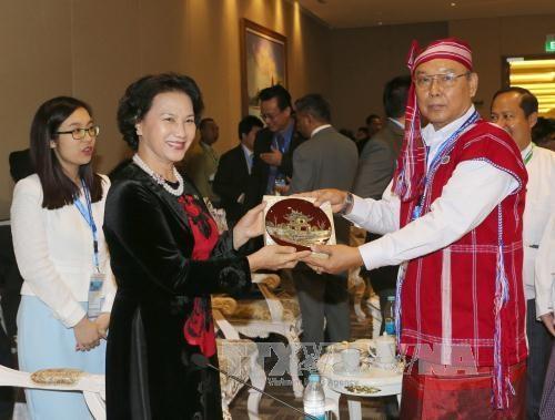 Nguyen Thi Kim Ngan a l'ouverture de la 37e l'Assemblee generale de l'AIPA hinh anh 1
