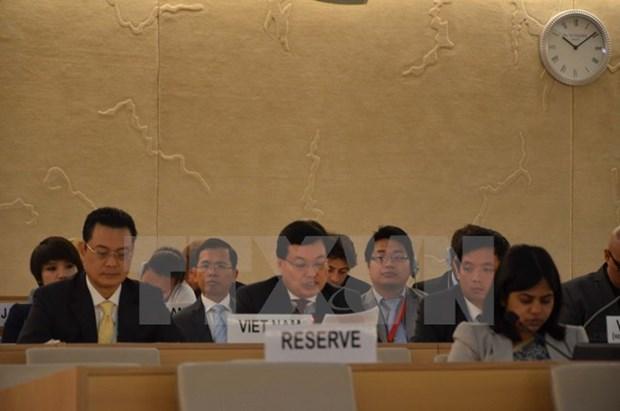 Le Vietnam contribue activement a la 33e session du Conseil des droits de l'homme hinh anh 1