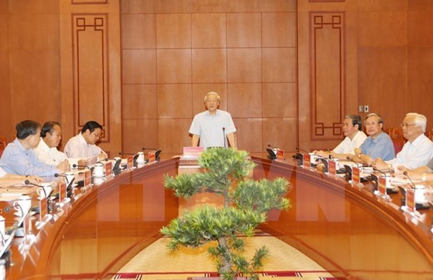 Reunion de la permanence du comite national de pilotage de lutte contre la corruption hinh anh 1