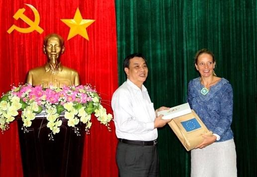 L'UE aide le Delta du Mekong dans la resilience au changement climatique hinh anh 1