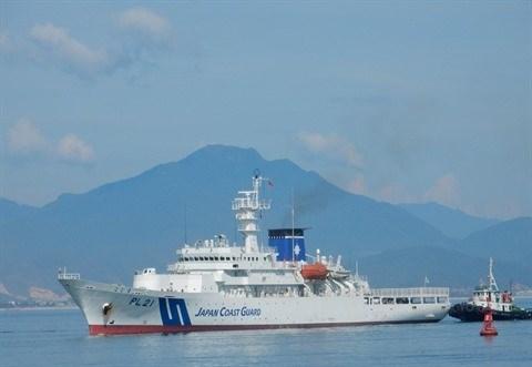 Deux Vietnamiens a l'Institut japonais de la police en mer hinh anh 2
