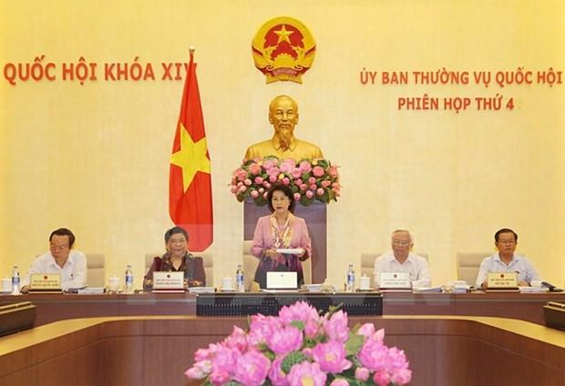 Ouverture de la 4e reunion du Comite permanent de l'Assemblee nationale hinh anh 1