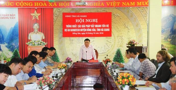 Pour une utilisation durable des ressources en eau sur le plateau calcaire de Dong Van hinh anh 1