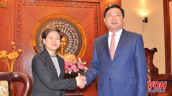 Ho Chi Minh-Ville deroule le tapis rouge aux investisseurs singapouriens hinh anh 1