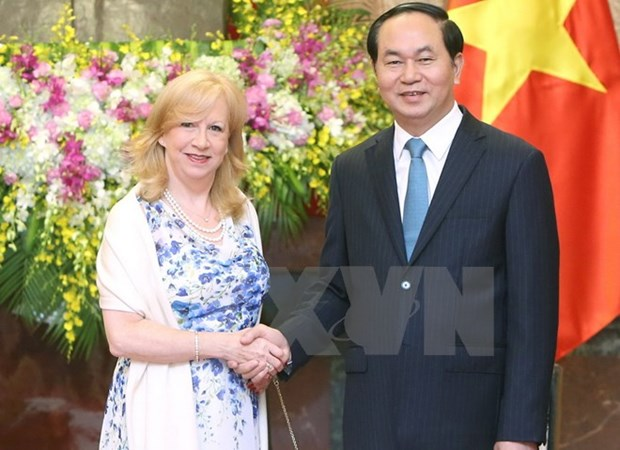 Tran Dai Quang recoit la vice-presidente de la Chambre des communes du Royaume-Uni hinh anh 1