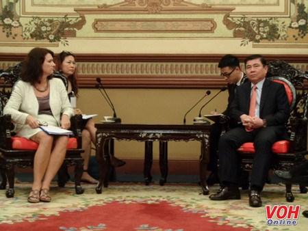 La Suede prete a partager ses experiences de developpement avec Ho Chi Minh-Ville hinh anh 1