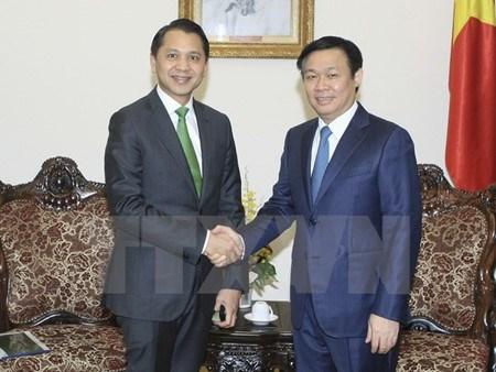 Le Vietnam souhaite recevoir des aides financieres de Kbank hinh anh 1