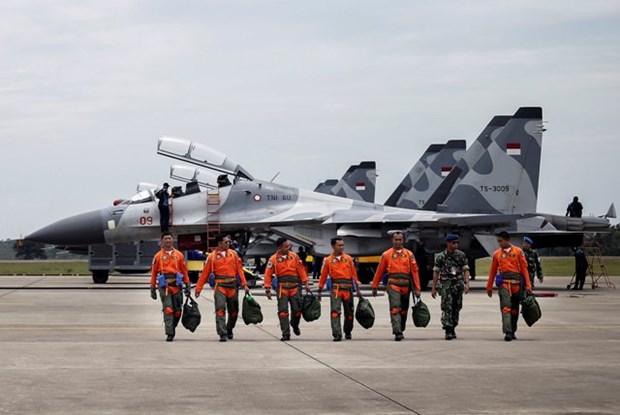 L'Indonesie mene un exercice militaire en Mer Orientale hinh anh 1