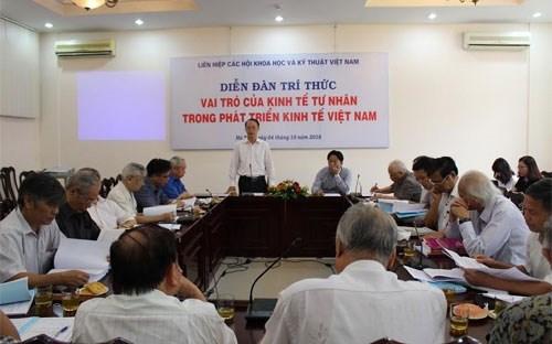 Le secteur prive joue un role important dans l'economie nationale hinh anh 1