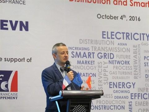 Renforcement de la cooperation franco-vietnamienne dans l'electricite hinh anh 1