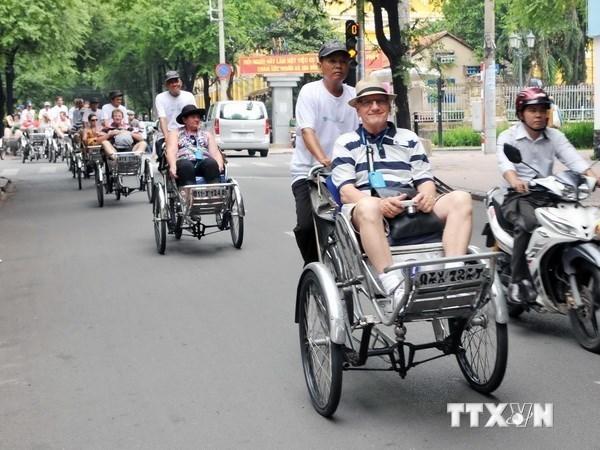 Hausse de 13 % du nombre de visiteurs etrangers a Ho Chi Minh-Ville hinh anh 1