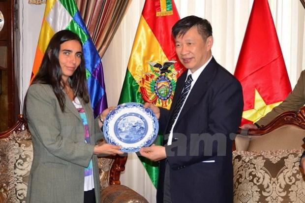 Une delegation du PCV se rend en Bolivie hinh anh 1
