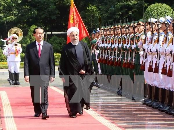 Vietnam et Iran sont determines a approfondir leurs relations d'amitie traditionnelles hinh anh 1